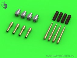 Master Typhoon Mk IB early cannons (round recoil springs) 1:24