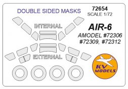 AIR-6 mask for Amodel (double sided) 1:72