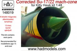 Su-17/22 Mach-cone for Kitty Hawk kit 1:48