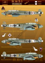 Bf 110D-3 Afrika Part.1 1:48