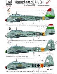 Bf 210A-1/Ca-1 part.2 1:72