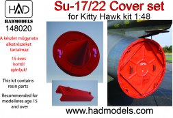 Su-17/22 Cover set for Kitty Hawk 1:48