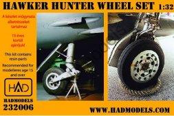 HADmodels Hawker Hunter Wheels 1:32