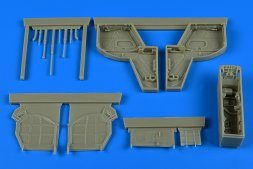 Aires IAI Kfir C2/C7 wheel bay for AMK 1:48