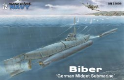 Special Navy Biber - German Midget Submarine 1:72