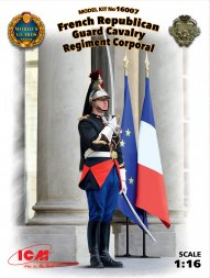 ICM French Republican Guard Cavalry Regiment Corporal 1:16