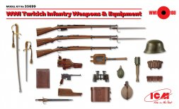 ICM Turkich Infantry Weapons & Equipment WWII 1:35