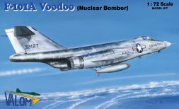Valom McDonnell F-101A Voodoo - Nuclear Bomber 1:72