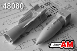 Advance Modeling 244N (RN-24) Soviet Nuclear Bomb 1:48
