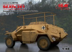 Sd.Kfz.261 - German Radio Communication Vehicle 1:48