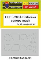 KP LET L-200A7D canopy mask 1:72