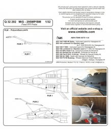 MiG-29SMP/BM Fixed IFR Probe 1:32