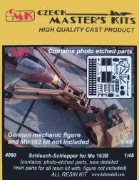 Scheuch-Schlepper for Me-163B 1:48