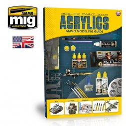 AMMO of MiG - Modelling Guide - How to pant with Acrylics