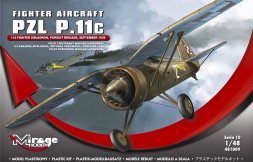 Mirage Hobby PZL P.11c - 112 FIGHTER SQUADRON 1:48