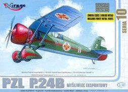 PZL P24B - Bulgarian version 1:48