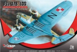 Mirage Hobby PZL-37B Los bomber 1:48