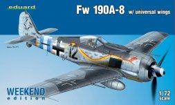 Focke Wulf Fw 190A-8 un. wings - WEEKEND edition 1:72