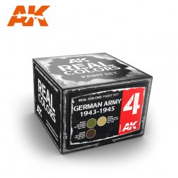 AK Real Colors - German Army 1943-1945 Set