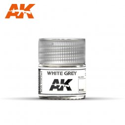 AK Real Colors - RC003 White Grey 10ml