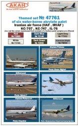 AKAN Iran AF - KC-707, KC-747, IL-76