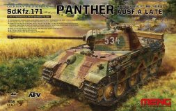 Meng Sd.Kfz.171 Panther Ausf. A (Late) 1:35