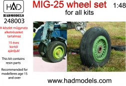 MiG-25 wheels 1:48