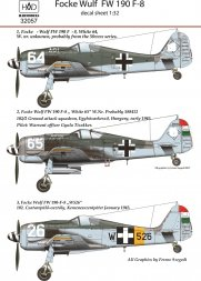Focke Wulf Fw 190F-8 part 2 1:32