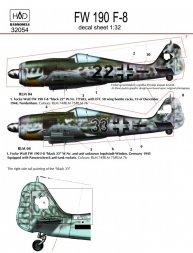 Focke Wulf Fw 190F-8 part 1 1:32