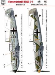 Messerschmitt Bf 109E-4 1:32