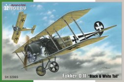 Fokker D. II - Black & White Tail 1:32