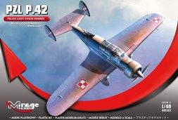 Mirage Hobby PZL P.42 - Polish light diving Bomber 1:48