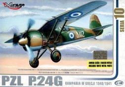Mirage Hobby PZL P.24G - Greece 1940/1941 1:48