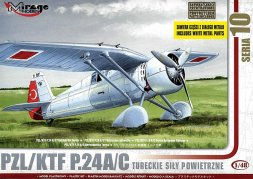 Mirage Hobby ZL/KTF P.24c Turkish Air Force 1:48