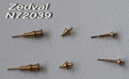 Antenna input for Soviet, Russian armored vehicles 1:72