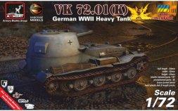 VK 72.01 (K) - German WWII heavy prototype tank 1:72