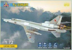Modelsvit Tu-22KDP with Kh-22 missile 1:72