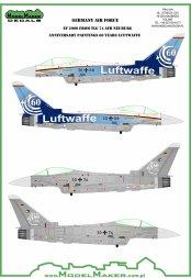 Eurofighter Typhoon 60 Years Luftwaffe TLG 74 1:32