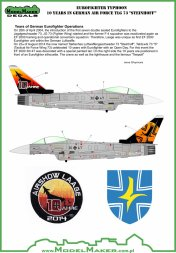 Eurofighter Typhoon 10 Years in German Air Force 1:2