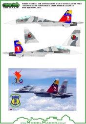 Su-30 - Venezuelan  5/200th anniversary 1:32