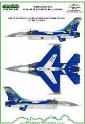 F-16A Potuguese 50 Years of BA5 Monte Real AB 1:48