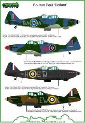ModelMaker Boulton Paul Defiant 1:48