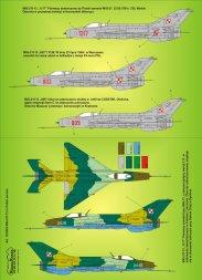 MiG-21f-13 in Polish service 1:144