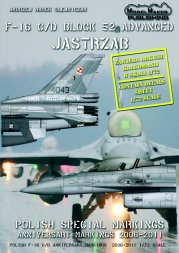 F-16C/D Polish Anniversary markings 2006-2011 1:72
