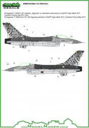 F-16 NATO Tiger Meet 2011 - Portuguese 1:72