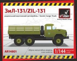 ZiL-131 Soviet Modern Cargo Truck 1:144