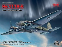 Heinkel He 111H-6 - German Torpedo bomber 1:48