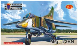 Mig-23BN Flogger H - Warsaw pact 1:72
