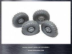 BRDM-1 sagget wheel set 1:35