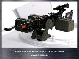 Kord heavy machine gun on 6U16 turel for TIGER-M 1:35